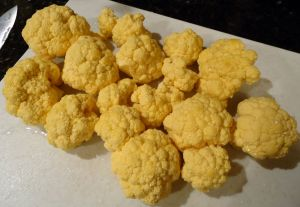 Orange Cauliflower!