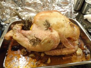 His name was Mr. Turkey.  He was delicious.