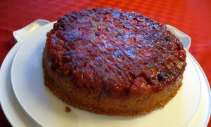 Cranberry Upside Down Cake!